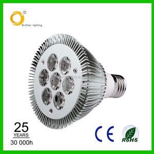2016 green energy 7*2W Par30 led spotlight