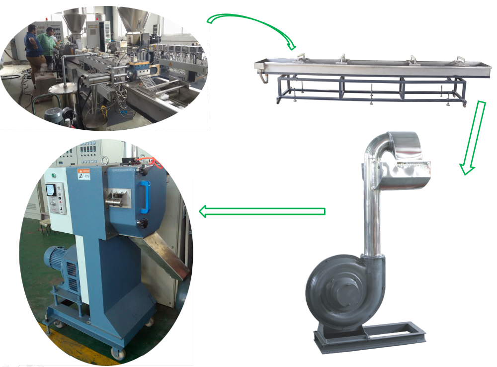recycle plastic granules making machine price.png