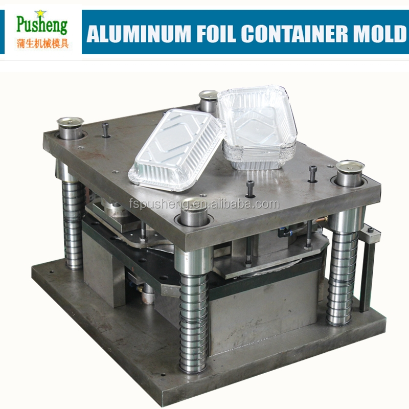 alibaba express airlin aluminum foil contain stamping mould with 1 section