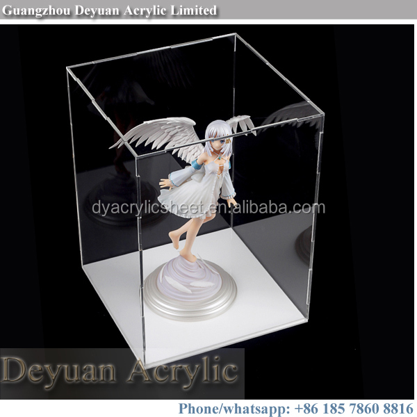 Custom plastic perspex model display cases
