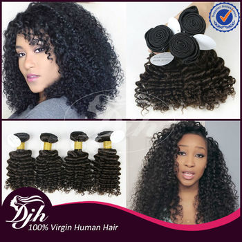 Djh Factory Different Types Of Curly Weave Hair Virgin Brazilian