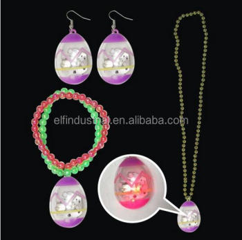Wholesale party event supplies plastic led easter pendant light up wholesale party event supplies plastic led easter pendant light up novelty necklace and glow bracelet led aloadofball