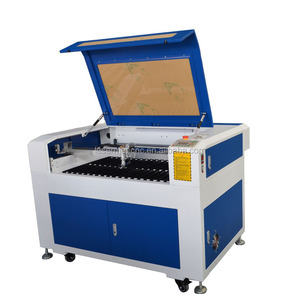 9060 co2 laser cutter for wedding invitation card cardboard paper LM-9060