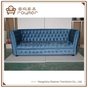 Contemporary Furniture Luxury Blue Velvet Sofa Classic - Buy Velvet  Chesterfield Sofa,Velvet Sofa Classic,Classic Sofa/contemporary Furniture  Product ...