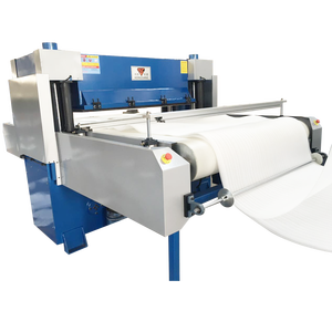 Full automatic belt feeding precision hydraulic EPE foam die cutting machine
