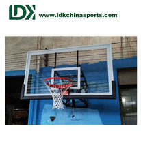 Elite wall mount basketball hoop for the office