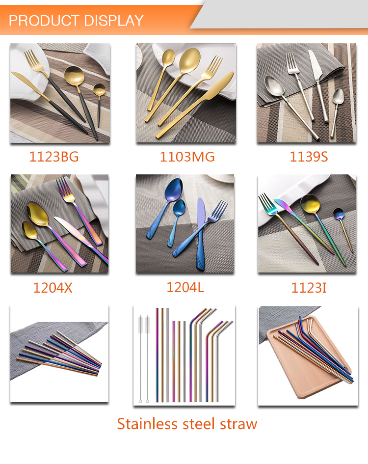Bulk Flatware For Wedding Cutlery Vintage Fancy Spoon Fork Set