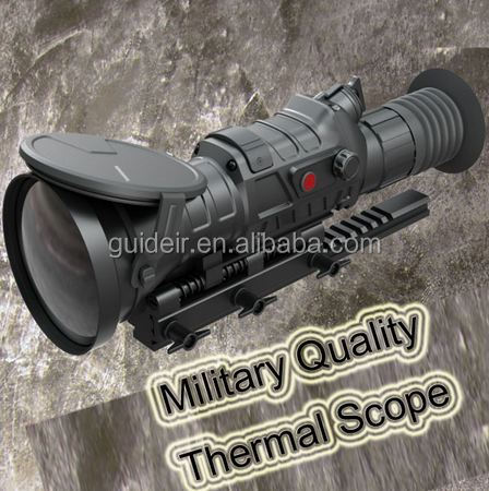 Military Thermal Imaging Rifle Scope Advanced Thermal Scope for Hunting
