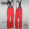 2015 Wholesale custom fashion colorful ski pant warm-keeping 100% polyester elastic belt cheap suspenders