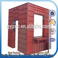 Tianjin GuangYe steel shuttering formwork for concrete/steel shuttering plates/recyclable shear wall formwork