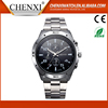Customized Gift Chronograph Quartz Watch,Stainless Steel Back Watch Case 316L Watches Men