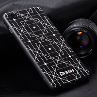DFIFAN mobile phone case printing for iphone 7/8 Custom design 3D sublimation mobile phone back cover for iPhone 8