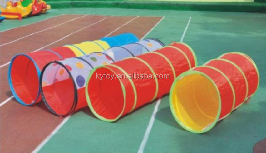 Cheap Fabric Kindergarten Sunshine Crawling Tunnel for Kids