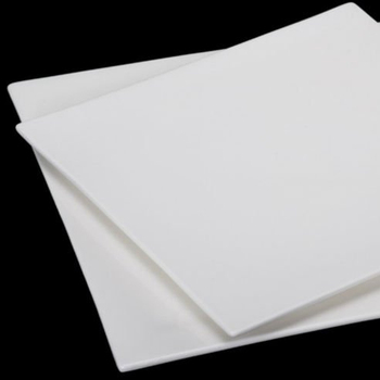 Super White Square Flat Ceramic