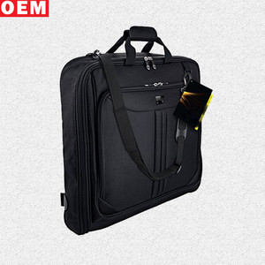 Custom Personalized Luxury Foldable Travel Packaging Suit Garment Bag For Men
