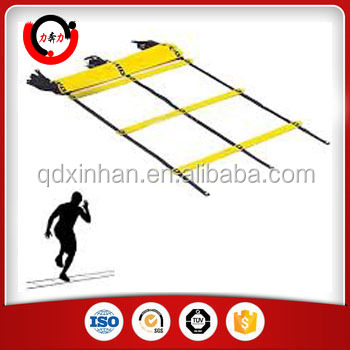 Speed Training Agility Ladder In Football And Soccer