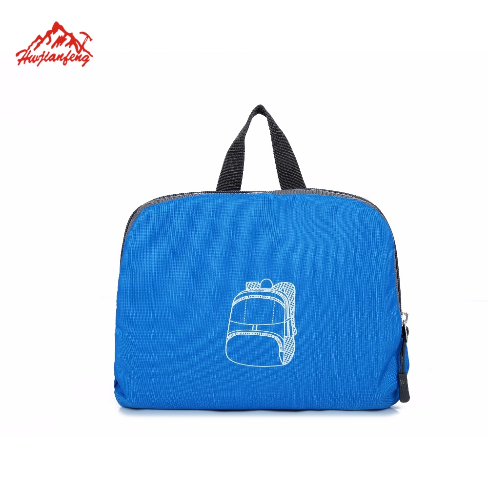New outdoor sports portable backbags foldable sports sling backpack foldable travel tote bag