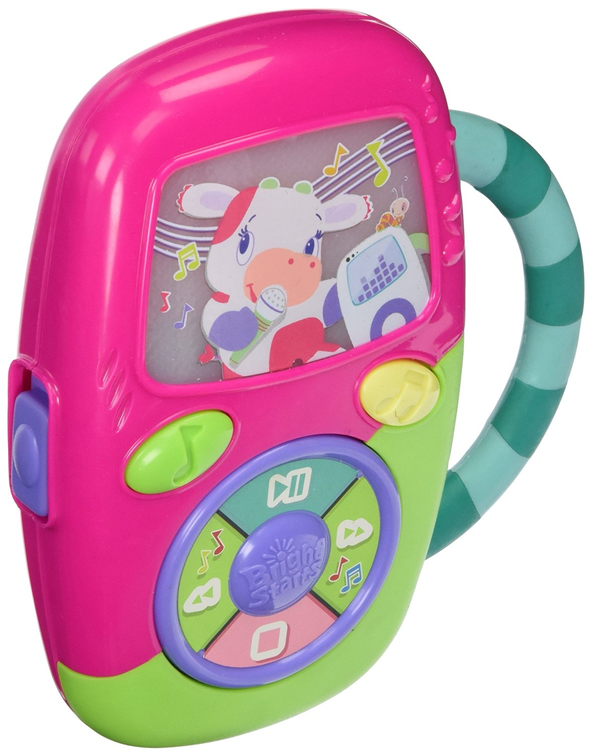 Bright Starts Pretty In Pink Get Movin' Music Player (Discontinued by Manufacturer)