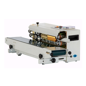 China Supplier FR-900 Continuous Heat Sealing Machine for Plastic Bag