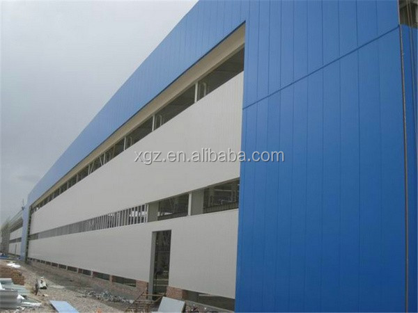 rockwool sandwich panel truss steel structure platform
