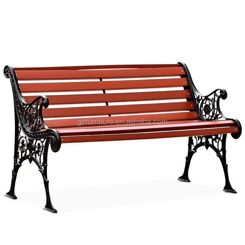 Awesome Cast Iron Outdoor Wood Garden Bench Antique Leisure Park Bench With Back And Metal Legs Buy Wrought Iron Patio Benches Wrought Iron Garden Ncnpc Chair Design For Home Ncnpcorg