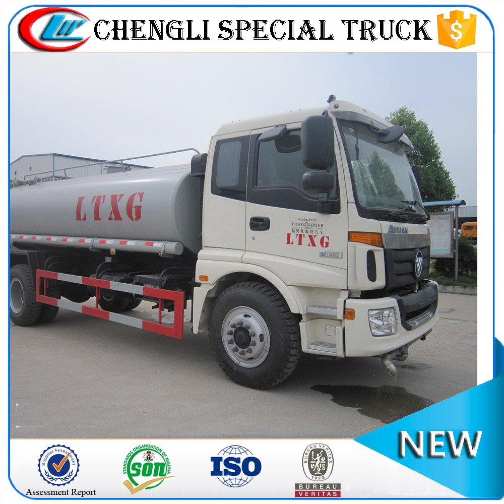 FOTON 4x2 10000 water cannon gallon stainless steel water tanks for trucks
