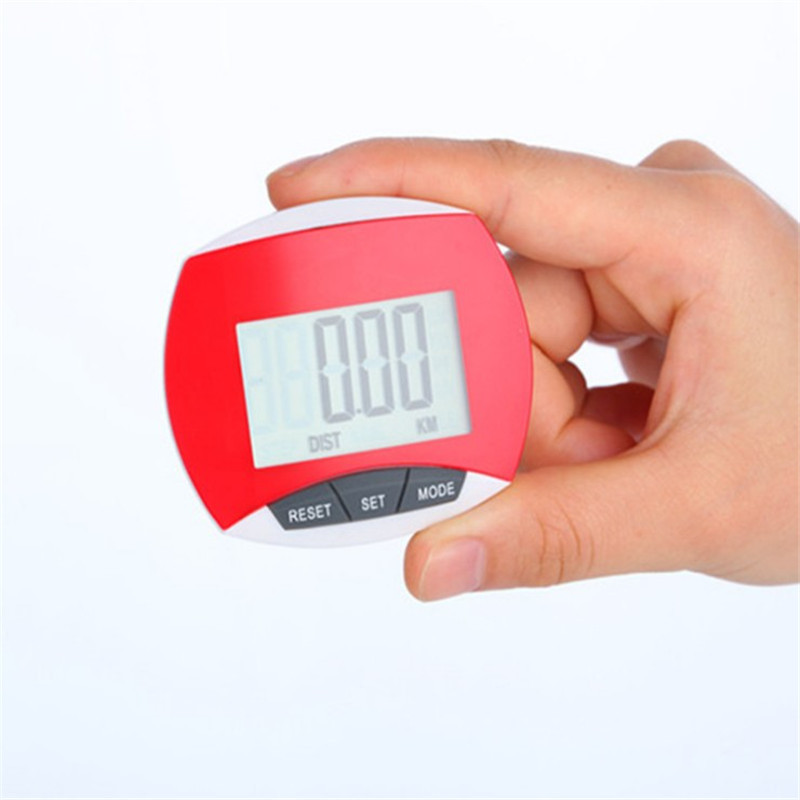 Oempromo oem wholesale smart clip on walking 3d pedometer promotion