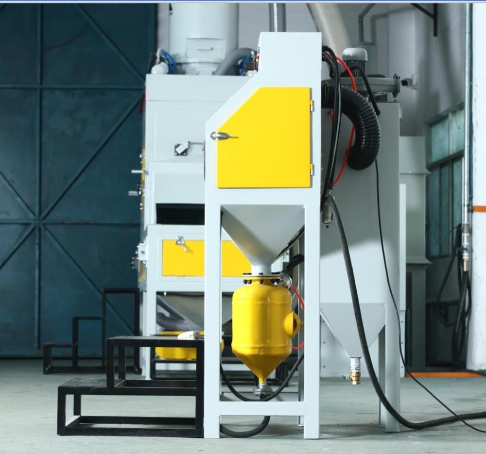 Dustless Portable High Pressure Sand Blast Cabinet Manual