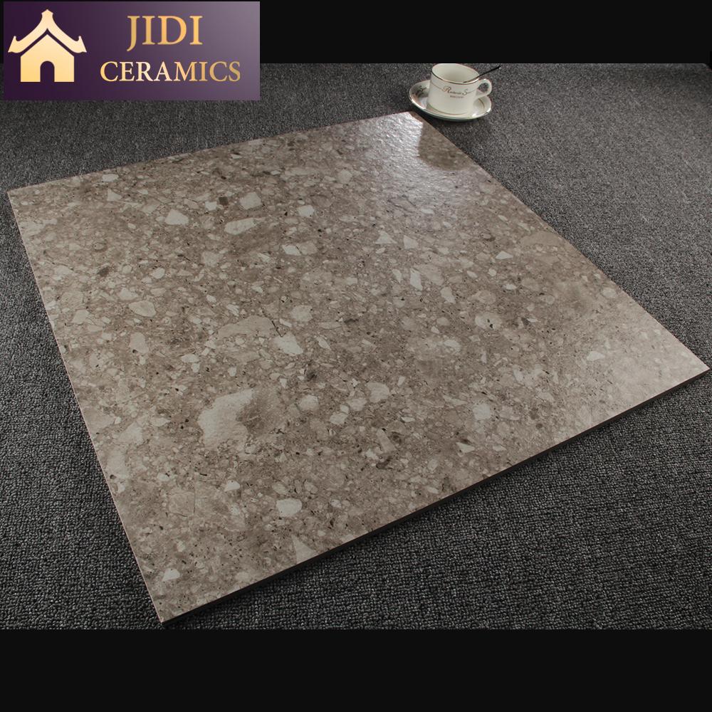 Grey Color Terrazzo Ceramic Floor Non Slip 60x60 Rustic Porcelain Tiles -  Buy Non Slip Ceramic Floor Tile,Terrazzo Tiles Floor,Grey Color Terrazzo
