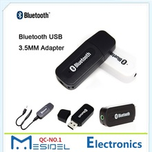 Mini USB Audio Adapter Wireless Bluetooth Stereo Music Receiver With 3.5mm Jack Audio Cable