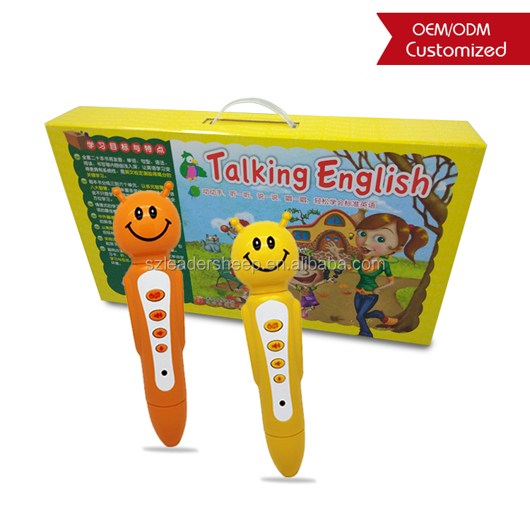multifunctional smart talking and reading pen for kids, magical learning tool