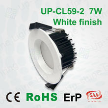 Epistar SMD2835 LED 80-95 LM Per Watt SAA CE ERP Approved 7W LED Downlight Dimmable Change