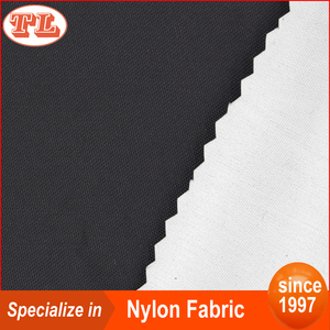 Blackout anti-uv 210D silver coated black nylon fabric for tent material
