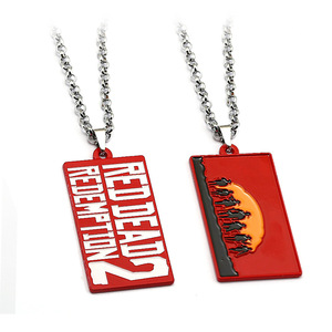 Hot Sale Game Wilderness Dart 2 Commemorative Edition Letter Necklace Alloy Pendant Necklace