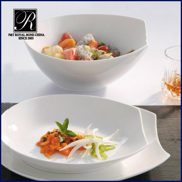 patio porcelain factory crockery salad soup bowls plates porcelain