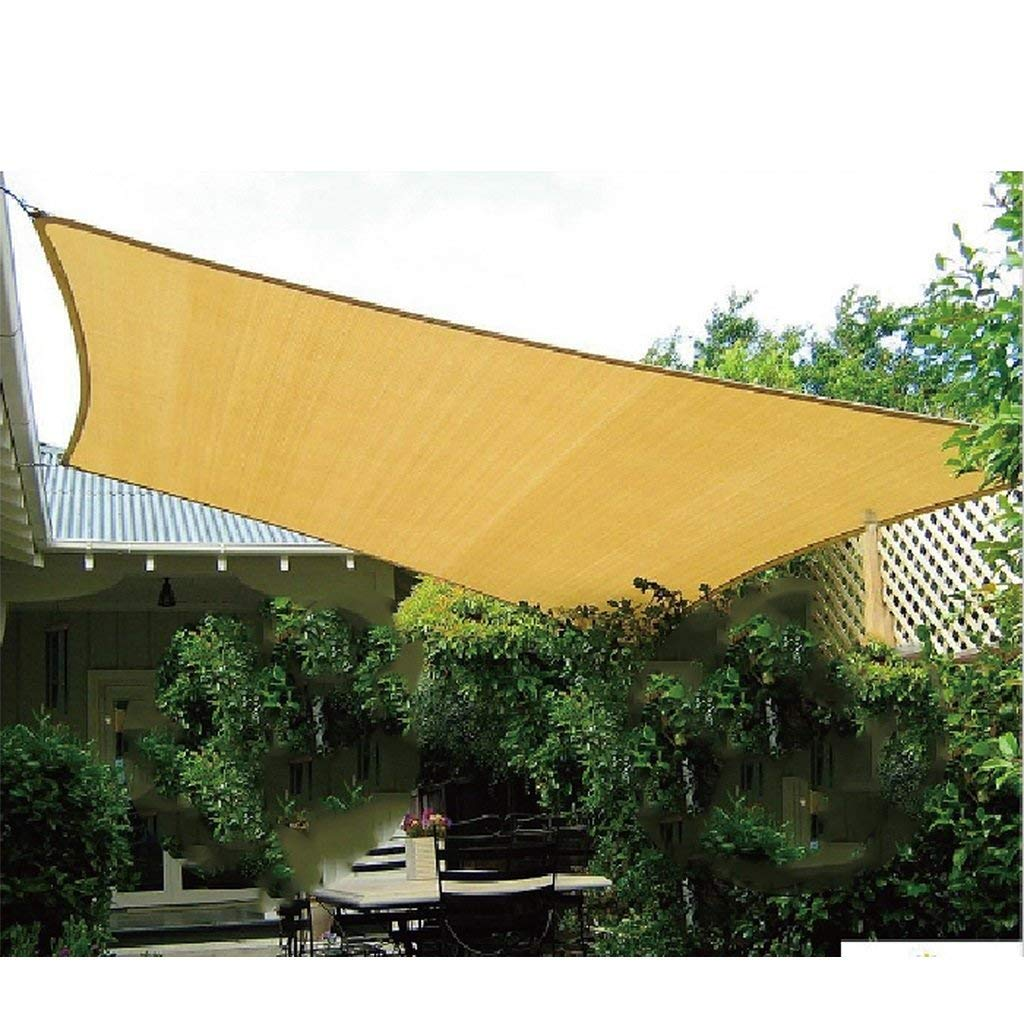 Get Quotations Rectangle Sand Uv Block Breathable Sun Shade Sail With D Ring Perfect For Outdoor Patio