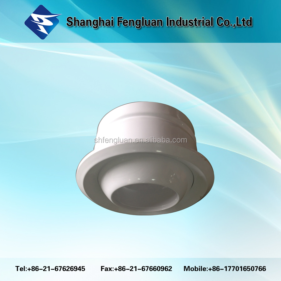 Ball type ceilling air diffuser metal diffuser for air conditioning