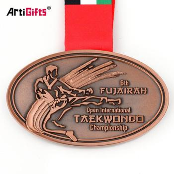 High quality metal sports die casting antique copper plating medals, View  cheap sports medals, Artigifts Product Details from Zhongshan Artigifts