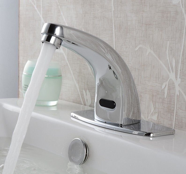 Modern Cheap Discount Bathroom Automatic Water Faucet Solenoid Valve ...