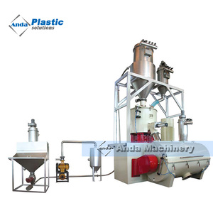 full automatic PVC batching mixing system