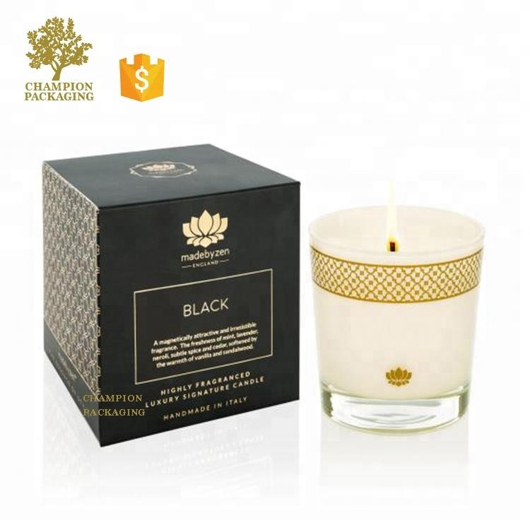 Wholesale Luxury Candle Paper Gift Boxes For Bottles Jars