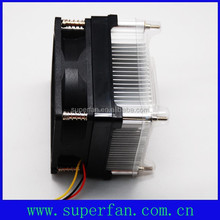 CPU cooler for computer processors 70x70x15mm DC fan with heatsink