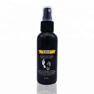 High quality 80ml natural foot shoe deodorant spray