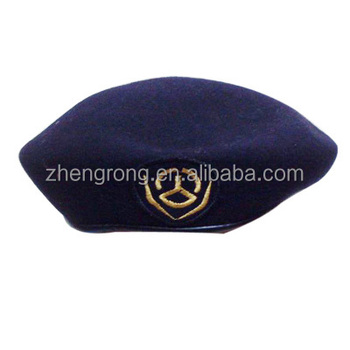 1b0e5b6296947 Wholesale Promotional Custom Embroidered Cheap Military Beret Hats ...