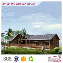 New chalet wood prefab chalet log cabin made in china factory price KPL-047