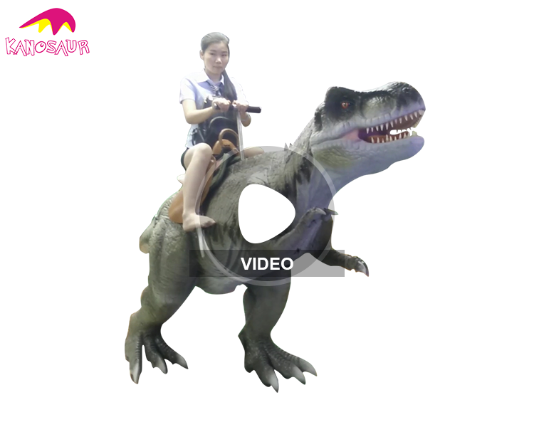 KANO6393 Jurassic Parties Real Coin Operated Dinosaur Kiddie Ride For Sale