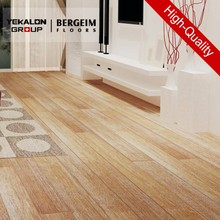 Tap&Go Solid Strand Woven Bamboo Natural color with white brushed White Bamboo Flooring