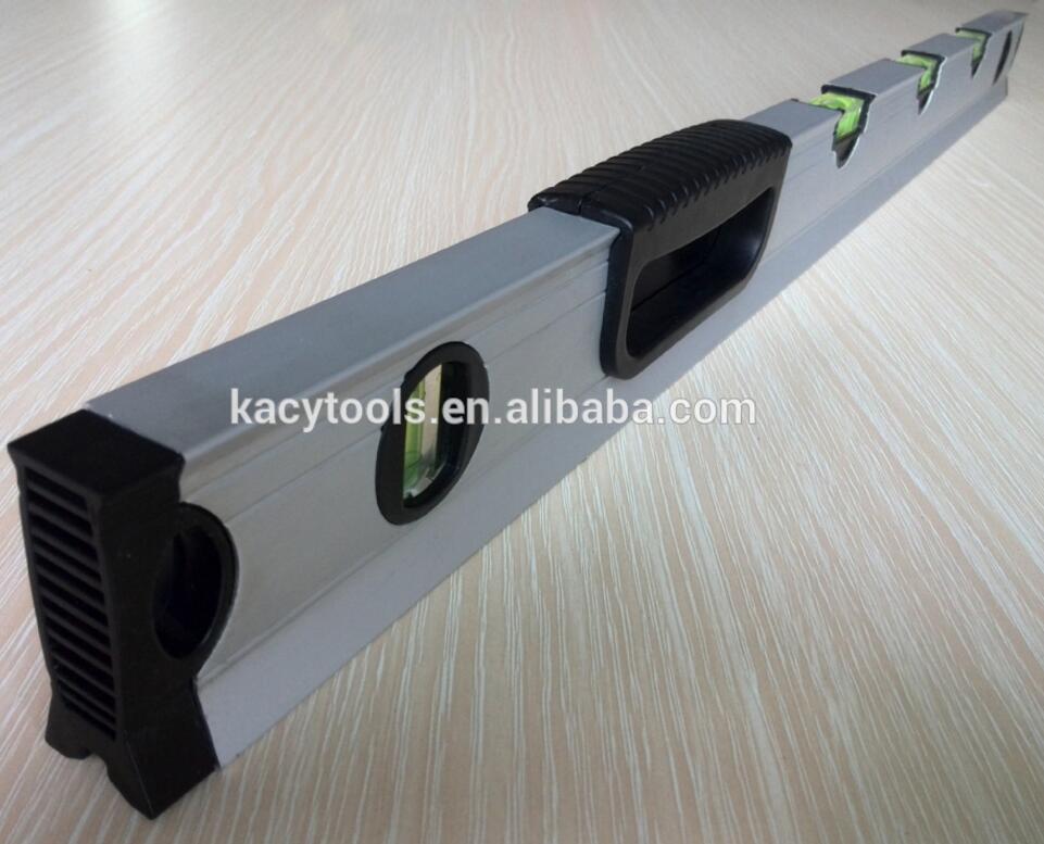 """12/"""" /& 24/"""" 2pc Set Of Aluminium Scaffolding Builders Spirit Level Handheld Level"""