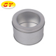 New high quality food gift wrap gold round metal tin can