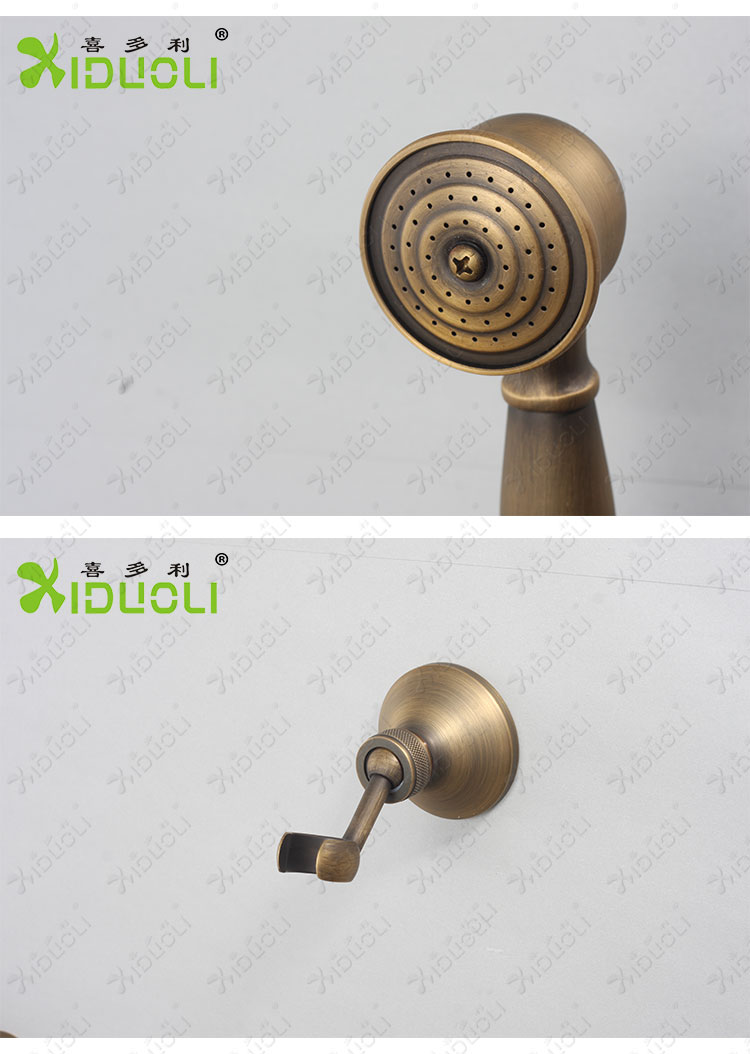 Wall Mount Antique Shower Faucet with Bracket